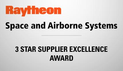 kSARIA 3 Star Raytheon Award