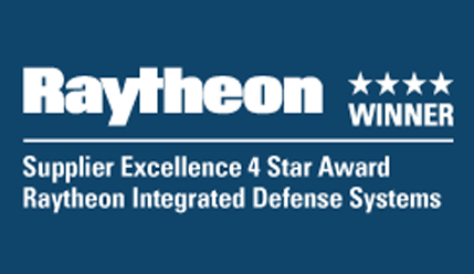 kSARIA 4 Star Raytheon Award