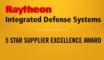 kSARIA 5 Star Raytheon Award