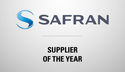 kSARIA Safran Supplier of the Year Award
