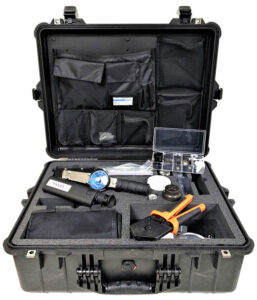 Navy Shipboard Fiber Optic Termination Kit provides technicians with a complete set of tooling necessary for a variety of terminations and installations.